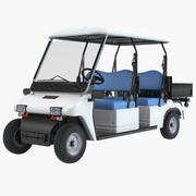 Melex Passenger Electirc Car 3d model
