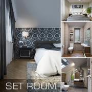 Habitación Set Interior modelo 3d