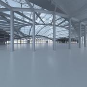 Интерьер базы Арена 3d model
