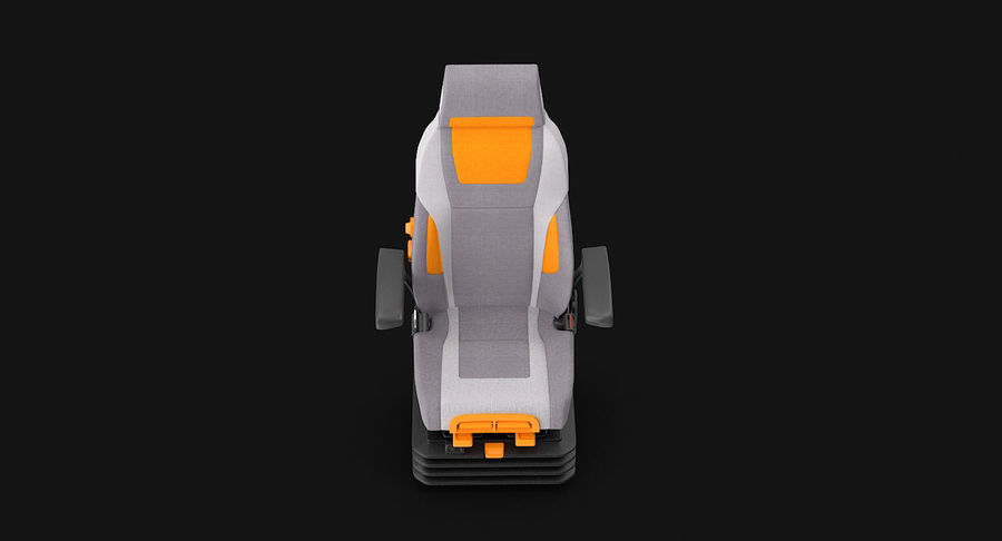 Vehicle Seat royalty-free 3d model - Preview no. 10