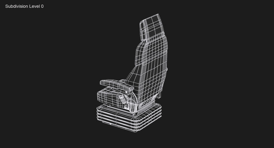 Vehicle Seat royalty-free 3d model - Preview no. 13