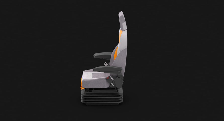Vehicle Seat royalty-free 3d model - Preview no. 8