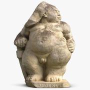 Sculpture Arlequin 3d model