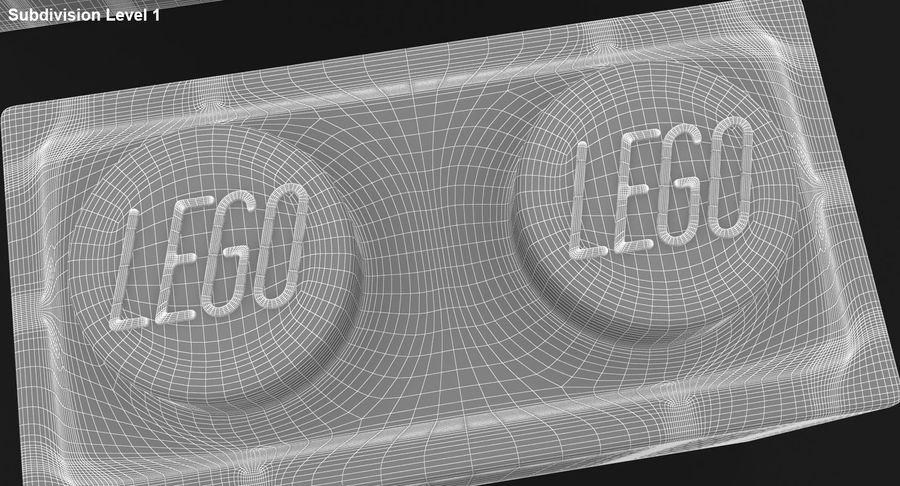 Lego Bricks Set royalty-free 3d model - Preview no. 14