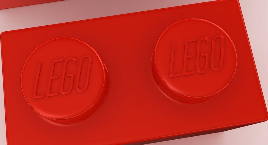 Lego Bricks Set royalty-free 3d model - Preview no. 13