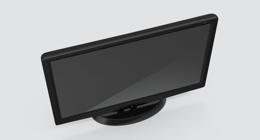 PC-Monitor royalty-free 3d model - Preview no. 9