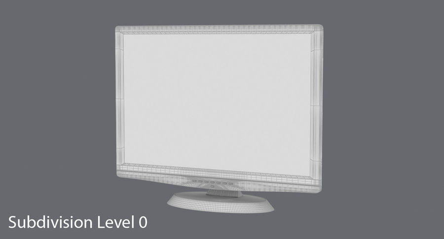 PC-Monitor royalty-free 3d model - Preview no. 16