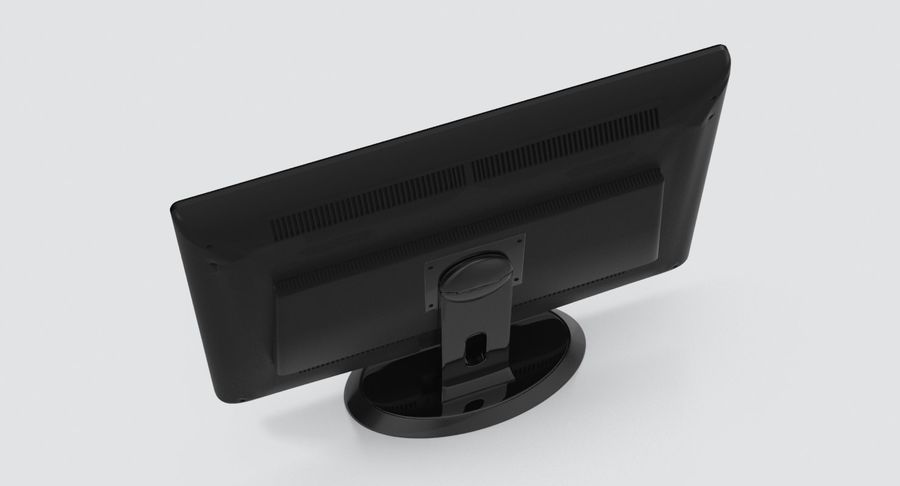 PC-Monitor royalty-free 3d model - Preview no. 10