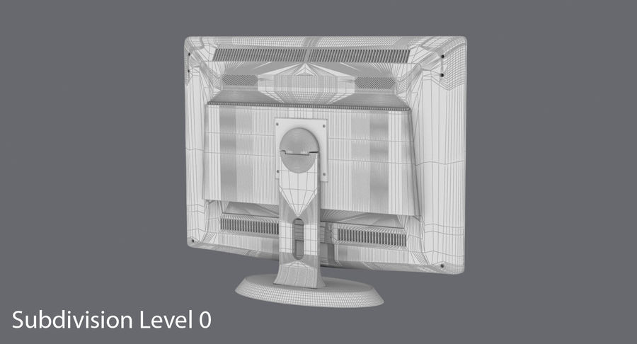 PC-Monitor royalty-free 3d model - Preview no. 18