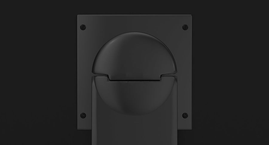 PC-Monitor royalty-free 3d model - Preview no. 14