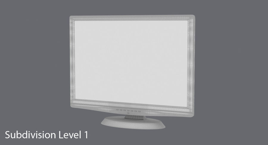 PC-Monitor royalty-free 3d model - Preview no. 19