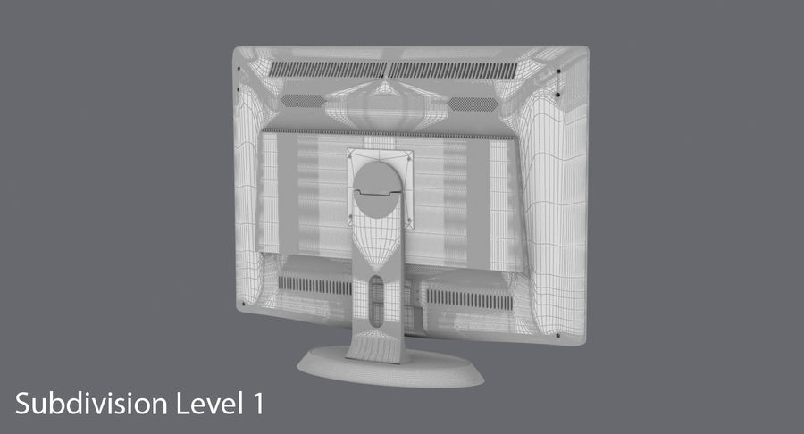 PC-Monitor royalty-free 3d model - Preview no. 21