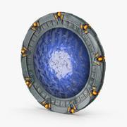Stargate Stargate avec portail 3d model