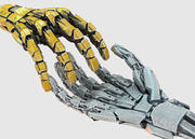 Robotic Hand Scene 3d model