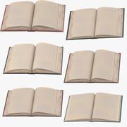 クラシックブックオープンミドル 3d model