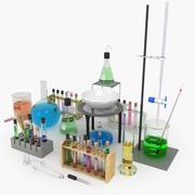 Набор химии 3d model