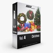 NICEMODELS Vol. 4 - Mega-pakket voor Kerstmis 3d model
