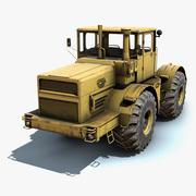 K-701拖拉机 3d model