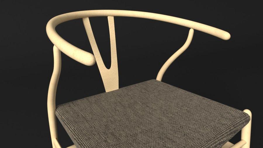 Hans J Wegner royalty-free 3d model - Preview no. 4