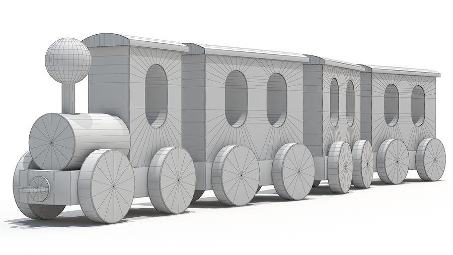 おもちゃの機関車 royalty-free 3d model - Preview no. 6