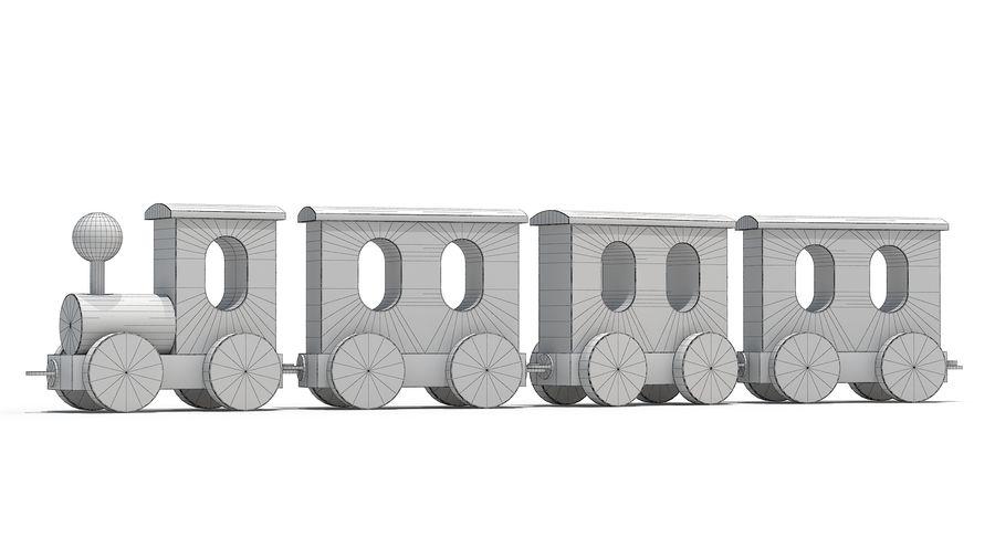 おもちゃの機関車 royalty-free 3d model - Preview no. 5