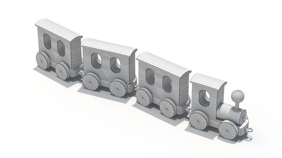 おもちゃの機関車 royalty-free 3d model - Preview no. 7