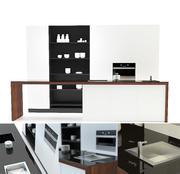 Küche modern 3d model
