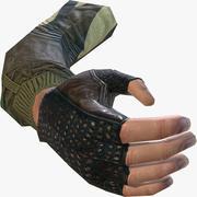 FPS рука 3d model