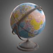 Globe - Gioco pronto per PBR 3d model