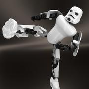 stormtrooper lego 3d model