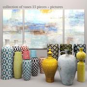 Koleksiyon vazolar 3d model