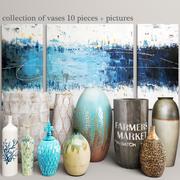 Koleksiyon vazolar (1) 3d model