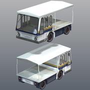 Milk Truck 3d model