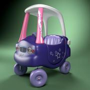 samochód dla dzieci 3d model