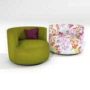 Sabaitalia Chance chair 3d model