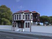 现代建筑 3d model