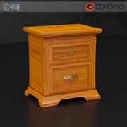 Mesa de cabeceira de Dall Agnese 3d model