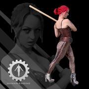 Женский скан - Соня Корсет 3d model