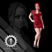 Женский скан - платье Сони 3d model