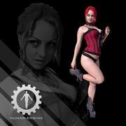 Женский скан - Соня Пинап 3d model