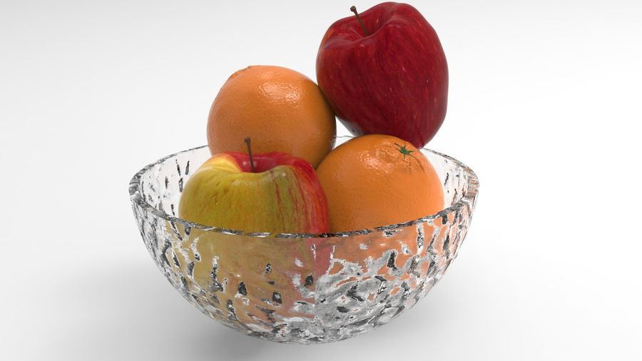 fruits royalty-free 3d model - Preview no. 1