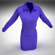Womens Suit 3d model