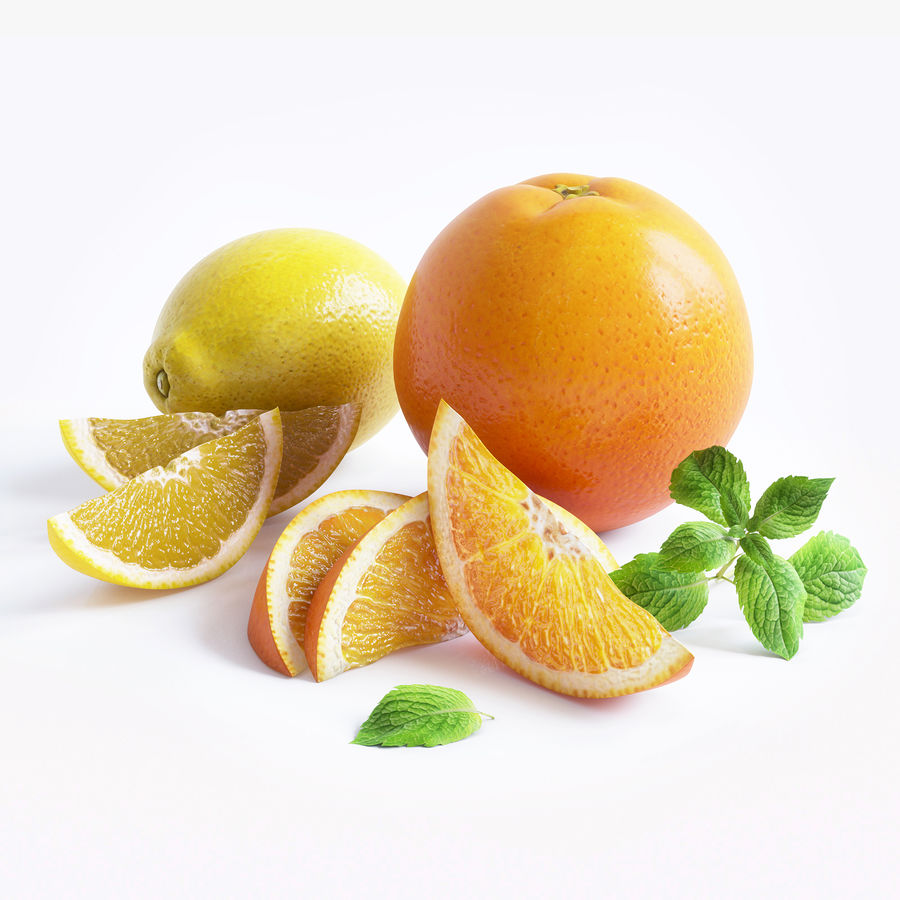 Citrus royalty-free 3d model - Preview no. 1