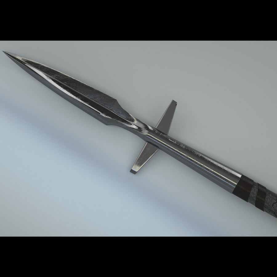 Battle medieval weaponset royalty-free 3d model - Preview no. 3