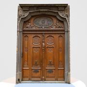 Door Wood Historic 3d model
