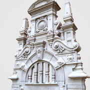 Design Architectural Door Head 3d model