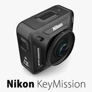 Nikon KeyMission 360-kamera 3d model