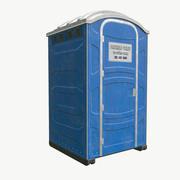 Mobilna toaleta 3d model
