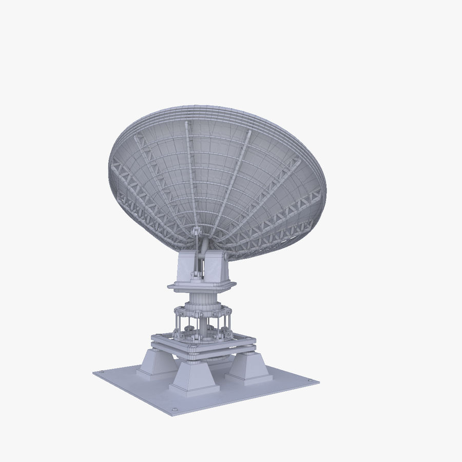 Schotelantenne royalty-free 3d model - Preview no. 5