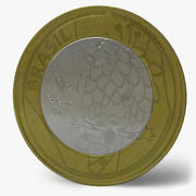 Brazilian Olympic Coin 3d model